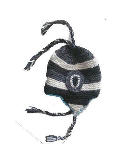 152543b2488 Woolen Products    Hand Knitted Woolen Hats    Woolen Ear Flap Hat